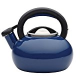 Sunrise Whistling Teakettle-The 1 1/2-Quart Circulon Teakettles