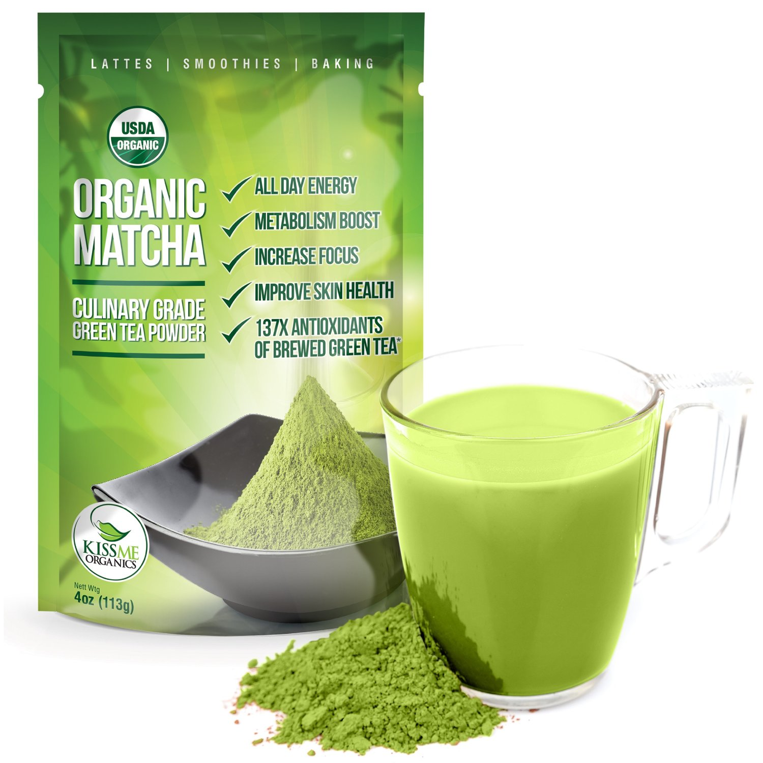 Organic Green Tea Matcha Health Benefits