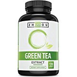 120 Capsules Of Green Tea Extract Supplement with EGCG for Weight Loss