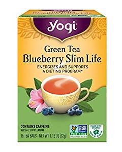 Yogi Tea, Blueberry Slim Life Green