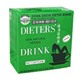 Uncle Lee's China Green Dieters Tea Caffeine Free – 30 Tea Bags 2.12 oz