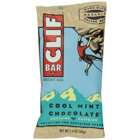192 PACKS: Clif Bar, Organic, Coolmint Choc, 2.40-Ounce