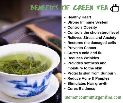Green tea for weight loss | Benefits of green tea