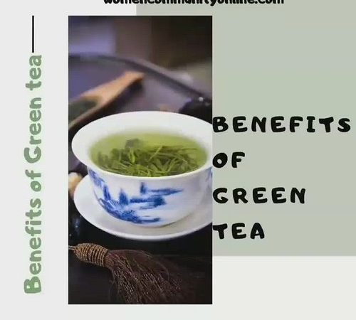 Some Amazing Health Benefits Of Green Tea