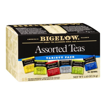 Bigelow Assorted Teas, 18 CT (Pack of 6)