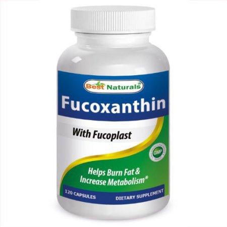Best Naturals, Fucoxanthin 100 mg 120 Capsules