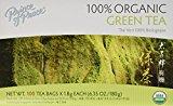 Prince of Peace Organic Green Tea 100 Tea Bags – 2 pack