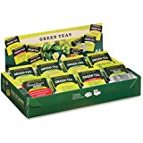Bigelow Tea Assorted Green Tea Tray Pack – Green Tea – 64 / Box