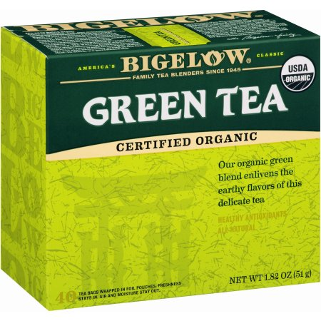 Bigelow ® Organic Green Tea 40 ct Box