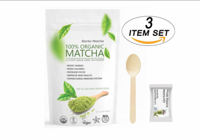 Organic Green Tea Matcha Powder; Green Tea Matcha Recipes