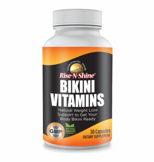 Bikini Vitamins Dietary Weight Loss Supplement, 30 Capsules